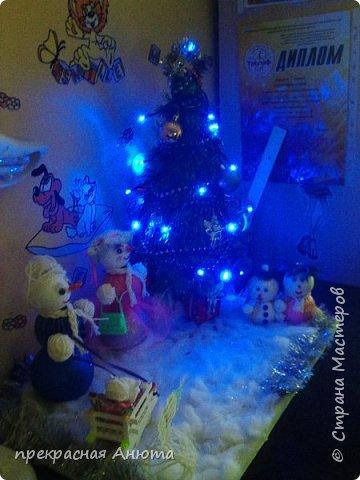 Новогодняя фантазия! Снеговики на прогулки  фото 1