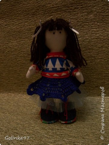 """Добрый день СМ!!! Я еще Вам не оказывала ЛАРУ?"""" Эта куколка сотворилась к Дню учителя, как то я забыла о ней, вы уж простите меня. Почему Лара? Потому, что учитель логопед, а Лара вполне себе учит говорить """"Л"""" и """"Р"""" фото 5"""