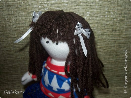 """Добрый день СМ!!! Я еще Вам не оказывала ЛАРУ?"""" Эта куколка сотворилась к Дню учителя, как то я забыла о ней, вы уж простите меня. Почему Лара? Потому, что учитель логопед, а Лара вполне себе учит говорить """"Л"""" и """"Р"""" фото 3"""