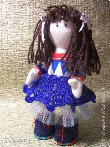 """Добрый день СМ!!! Я еще Вам не оказывала ЛАРУ?"""" Эта куколка сотворилась к Дню учителя, как то я забыла о ней, вы уж простите меня. Почему Лара? Потому, что учитель логопед, а Лара вполне себе учит говорить """"Л"""" и """"Р"""" фото 1"""