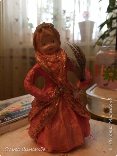 Добрый вечер!) Доделала девочку по МК Светланы: http://stranamasterov.ru/node/1058350?c=favorite фото 4