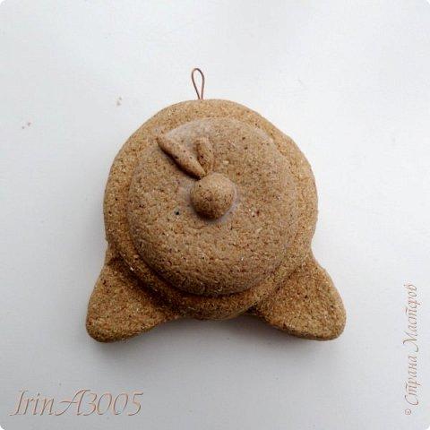 «Ёлочная игрушка – Новогодний будильник» (опилки)  фото 11