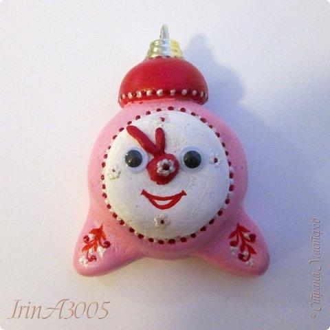 «Ёлочная игрушка – Новогодний будильник» (опилки)  фото 14