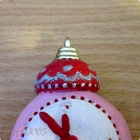 «Ёлочная игрушка – Новогодний будильник» (опилки)  фото 15