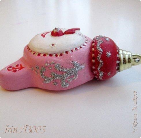 «Ёлочная игрушка – Новогодний будильник» (опилки)  фото 16