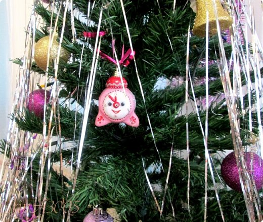 «Ёлочная игрушка – Новогодний будильник» (опилки)  фото 19