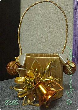 новогодняя корзиночка фото 1