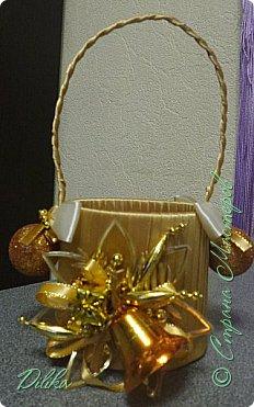 новогодняя корзиночка фото 2