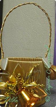 новогодняя корзиночка фото 3