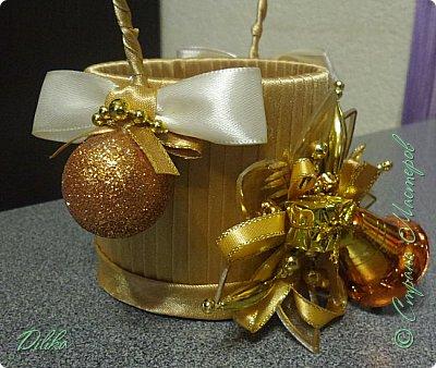 новогодняя корзиночка фото 4