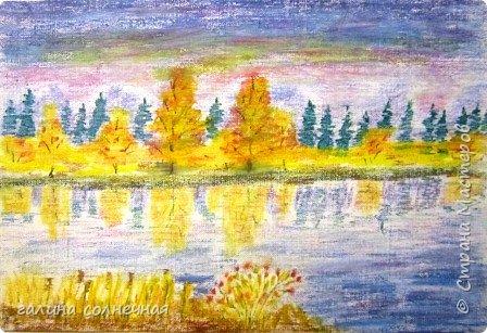 """Здравствуйте. Предлагаю вам посмотреть картины по теме """"Осень"""". Это -подарок сестре на день рождения. Картина """"Дары осени"""". Написана акриловыми красками на холсте. фото 3"""
