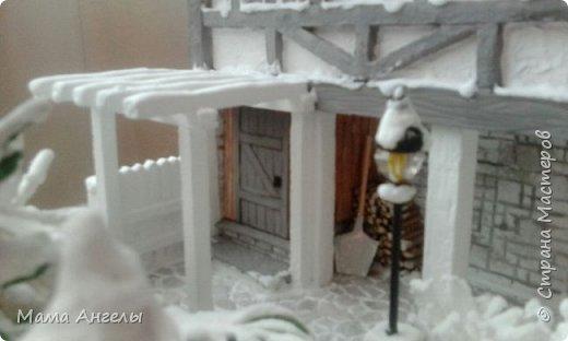 """Закончила свой проект для школьного конкурса на тему """" Зимняя сказка""""...  фото 11"""