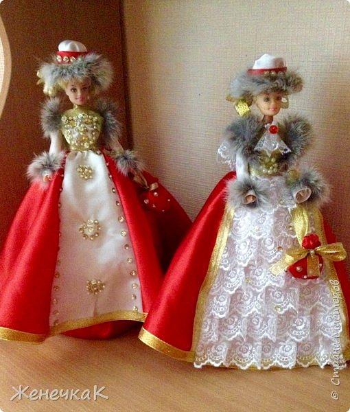 Мои красавицы! Вот, что можно сделать из ненужных кукол, лохматых и раздетых)))) фото 1