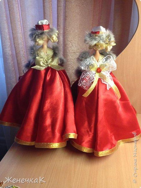 Мои красавицы! Вот, что можно сделать из ненужных кукол, лохматых и раздетых)))) фото 2