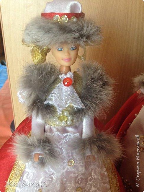 Мои красавицы! Вот, что можно сделать из ненужных кукол, лохматых и раздетых)))) фото 3