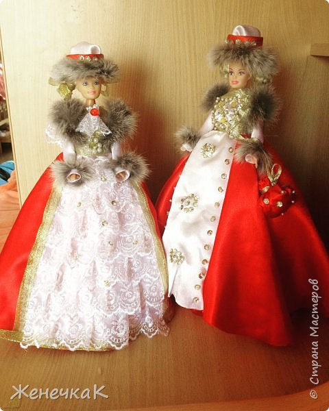 Мои красавицы! Вот, что можно сделать из ненужных кукол, лохматых и раздетых)))) фото 5