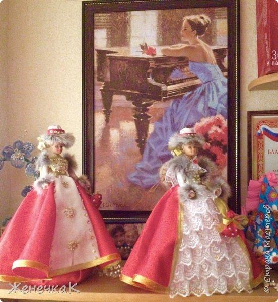 Мои красавицы! Вот, что можно сделать из ненужных кукол, лохматых и раздетых)))) фото 9