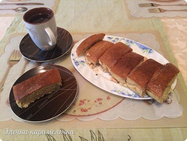 """Добрый день, мои друзья и соседи!  Сегодня решила испечь пирог и поделиться с вами рецептиком, он несложный, быстрый и главное, что подойдет, когда """"гости на пороге""""! фото 1"""