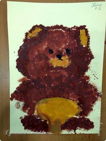 Портрет медвежонка фото 4