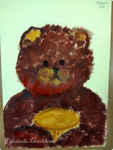 Портрет медвежонка фото 5