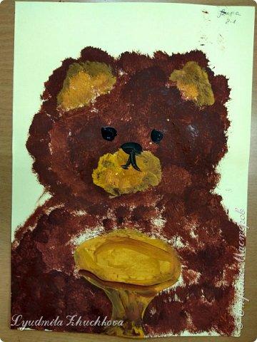 Портрет медвежонка фото 1