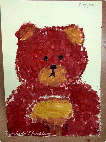 Портрет медвежонка фото 3