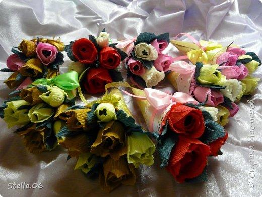 Такими сладкими букетиками сынуля угощал учителей в  День учителя фото 2