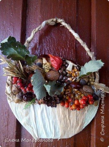 В каждом веночке или корзинке от 12 до 15 различных семян, плодов.  фото 11