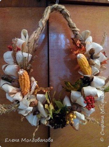 В каждом веночке или корзинке от 12 до 15 различных семян, плодов.  фото 1