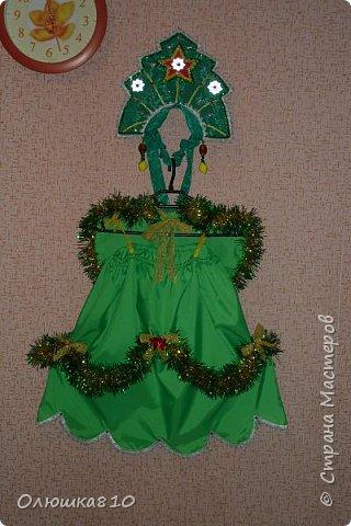 Ёлочка-иголочка - карнавальный костюм для девочки и корона для принца фото 1