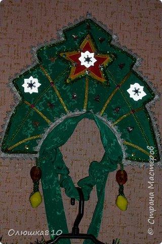 Ёлочка-иголочка - карнавальный костюм для девочки и корона для принца фото 2