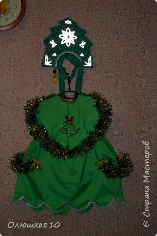 Ёлочка-иголочка - карнавальный костюм для девочки и корона для принца фото 3
