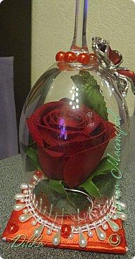 Роза в бокале фото 4