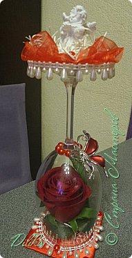 Роза в бокале фото 13