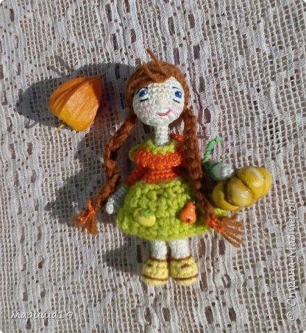кукла тёплая осень