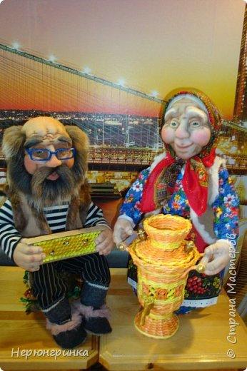 Вот такие бабуля с дедулей получились в этот раз !  Приходите к нам на чаек с медком !!! фото 12