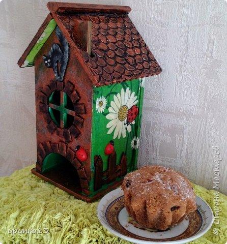 Добрый день творческие люди.Увидела у  http://stranamasterov.ru/node/833158?c=favorite чайные домики,и все понеслось.Теперь одариваю своих близких))) фото 5
