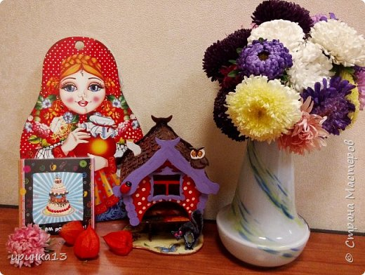 Добрый день творческие люди.Увидела у  http://stranamasterov.ru/node/833158?c=favorite чайные домики,и все понеслось.Теперь одариваю своих близких))) фото 4