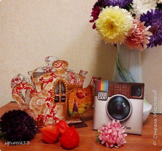Добрый день творческие люди.Увидела у  http://stranamasterov.ru/node/833158?c=favorite чайные домики,и все понеслось.Теперь одариваю своих близких))) фото 3
