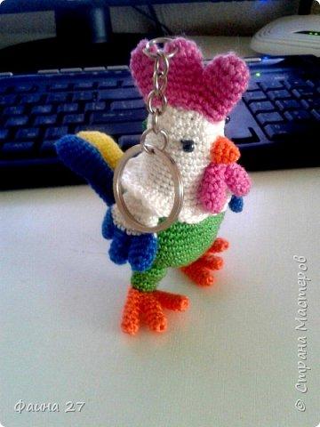 Брелочек-петушочек фото 1