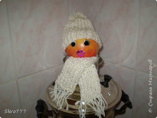 Яблоко в шапочке фото 1