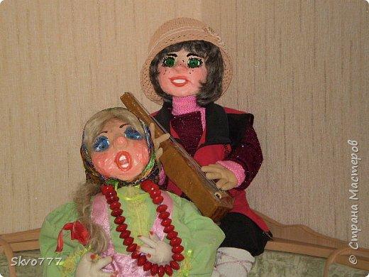 Интерьерные куклы- Ваня с Маней фото 2