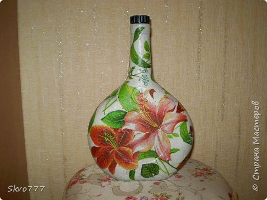 Декор подставки под цветы фото 8