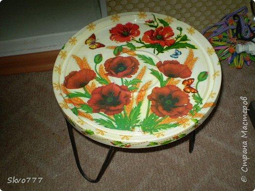 Декор подставки под цветы фото 1