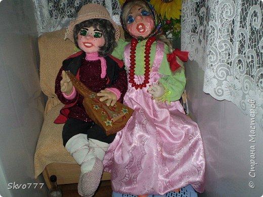 Интерьерные куклы- Ваня с Маней фото 1