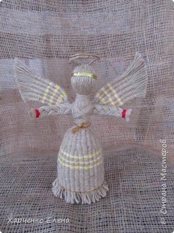 Добрый день, дорогие гости моей странички!  Из многочисленных новогодних украшений мне больше всего нравится расписывать шары и плести ангелов. фото 7