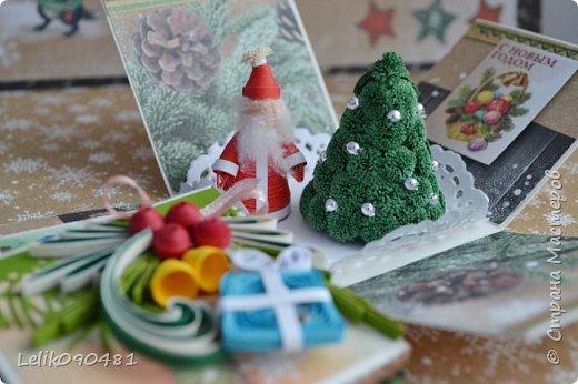 Всем Здравствуйте! Всем желаю вдохновения, и новогоднего настроения! У нас уже сугробы, а у Вас?  фото 22