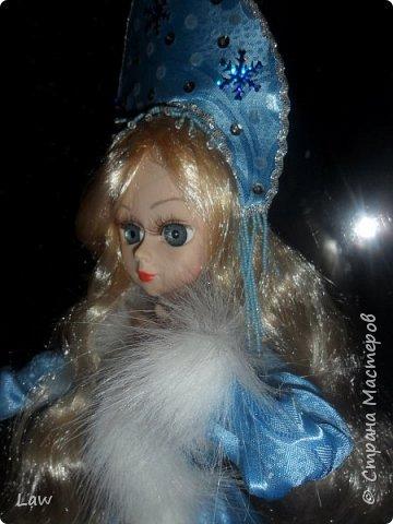продолжаю новогоднюю тематику! ))) моя любимица Руж принарядилась в наряд Снегурочки!!  фото 2
