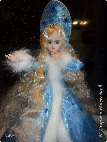 продолжаю новогоднюю тематику! ))) моя любимица Руж принарядилась в наряд Снегурочки!!  фото 3
