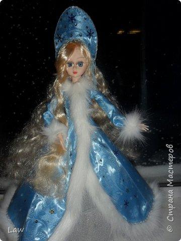 продолжаю новогоднюю тематику! ))) моя любимица Руж принарядилась в наряд Снегурочки!!  фото 5